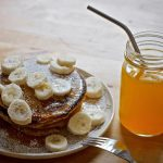 Healthy Eggless Banana Pancake
