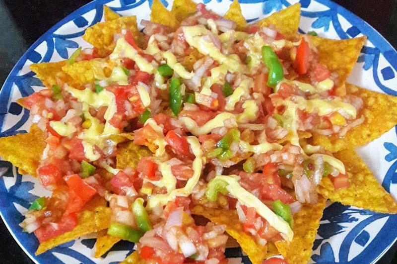 Recipe : Microwave Nachos Salsa