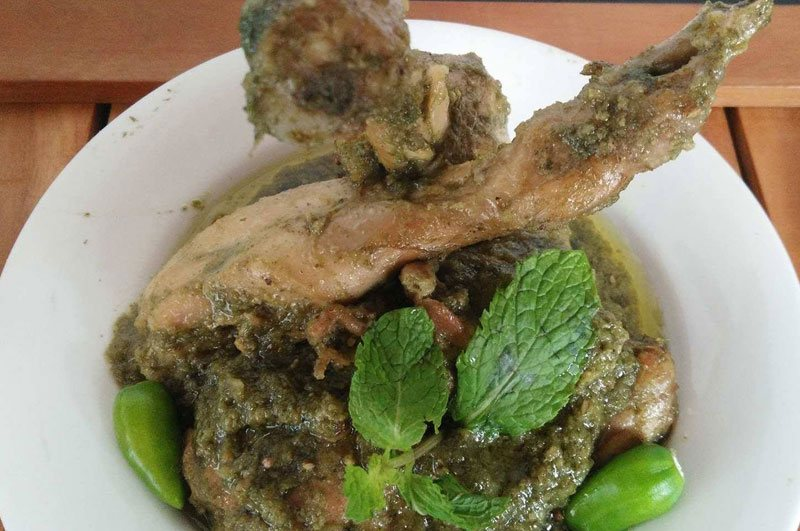 Recipe : Mint Chicken
