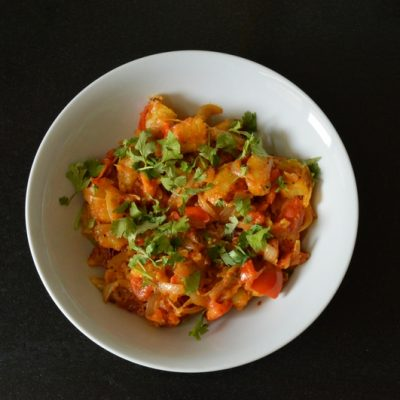 Mughlai Aloo Subzi (Indian Style Potato Curry)