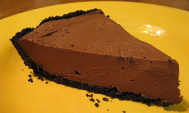 Recipe : No Bake Chocolate Pie