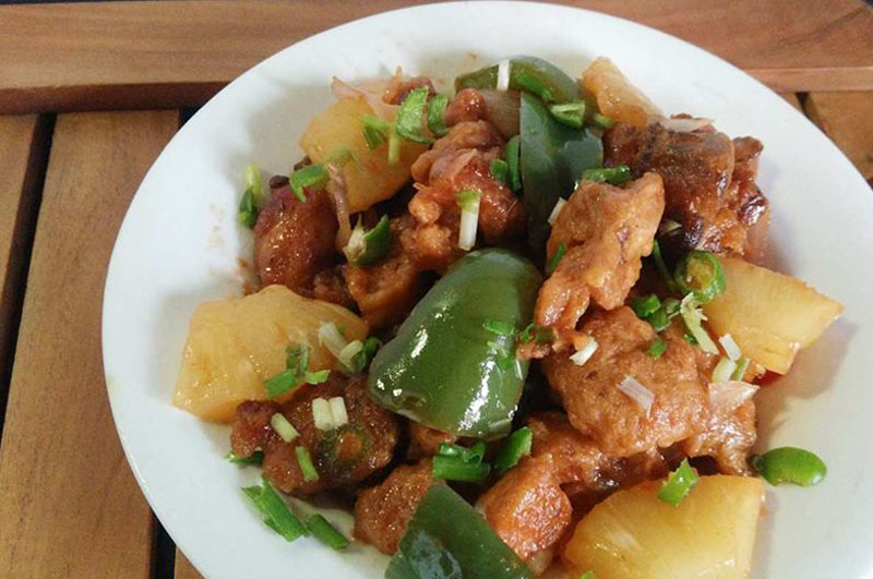 Recipe : Chinese Pineapple Chicken