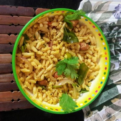 Puffed-Rice-Oggarane-(Spicy-Puffed-Rice)