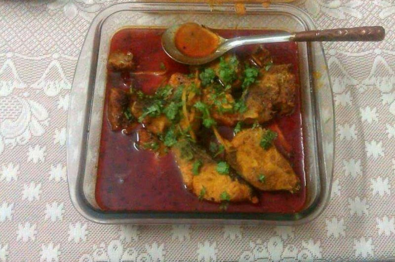 Quick Indian Fish Curry