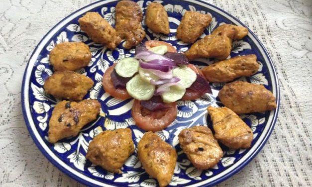 Recipe : Saffron Barbecued Chicken