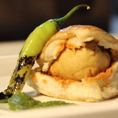 Spicy Vada Pav