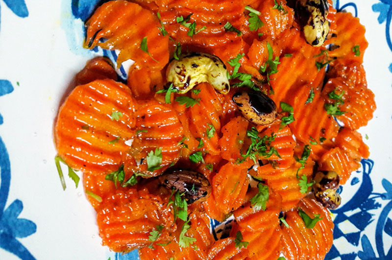 Recipe : Honey Glazed Carrots