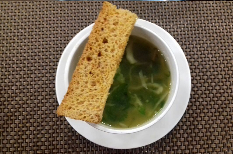 healthy vegetable soup recipe using Lemon and Coriander