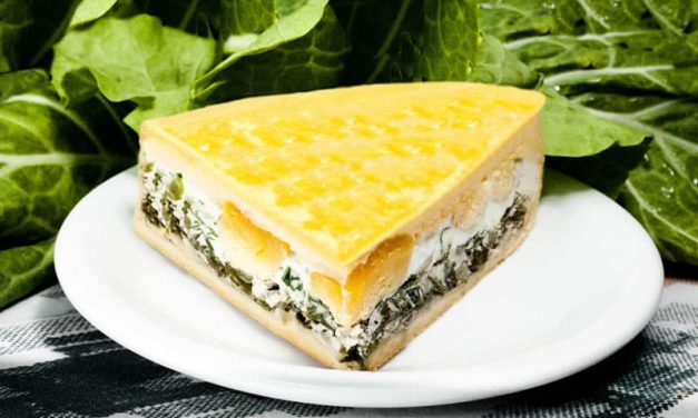 Recipe : Spinach, Ricotta and Eggs Pie