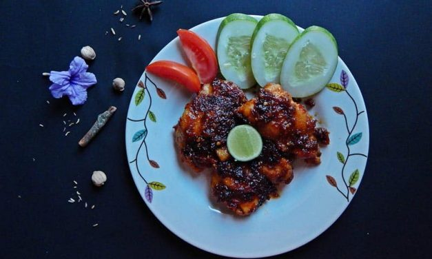 Recipe : Sour and Spicy Grilled Chicken