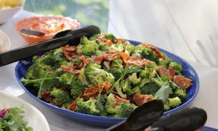 Recipe : Easy Broccoli Bacon Salad
