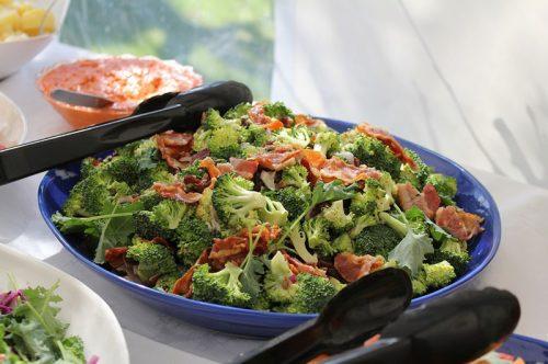 Recipe : Easy Broccoli Bacon Salad