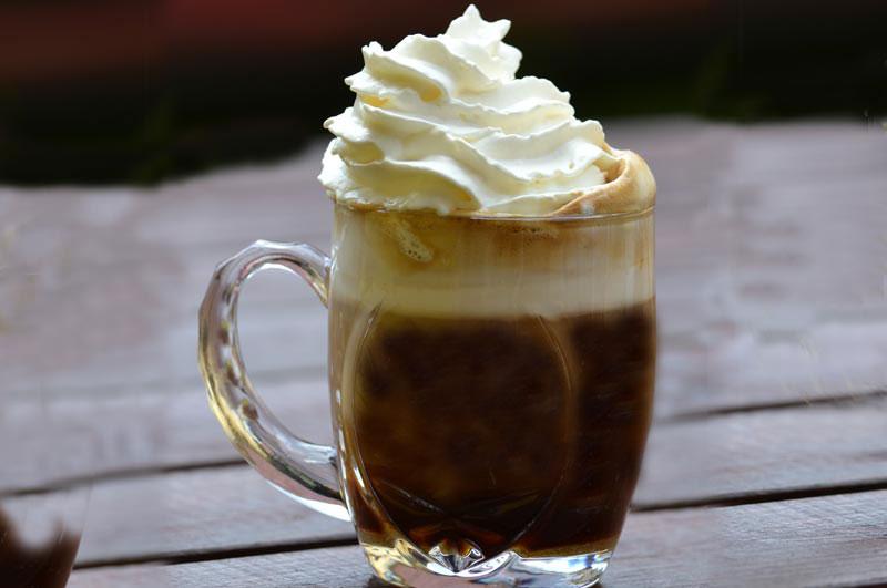 Types of coffee- Irish Coffee