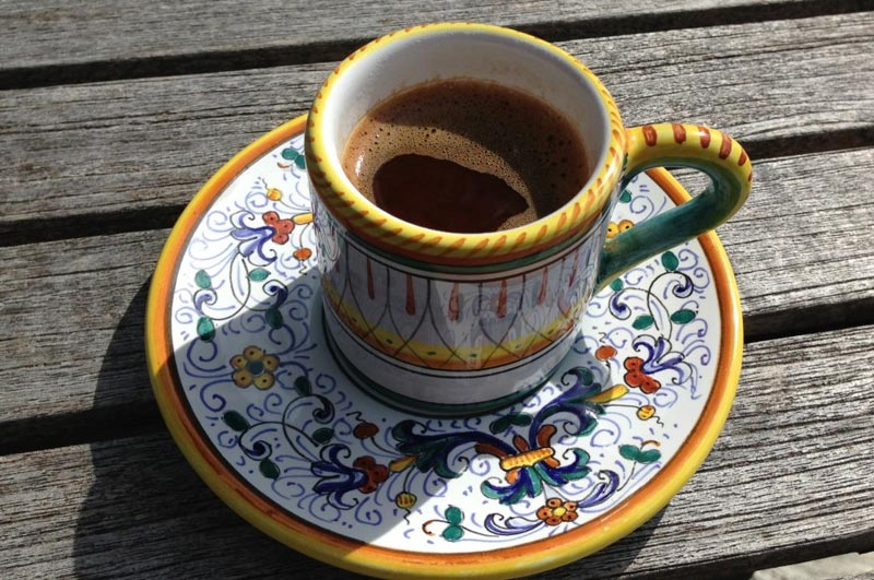 Types of coffee Turkish coffee