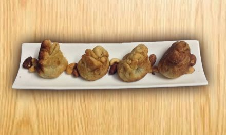 Recipe : Bite-Sized Purses Stuffed with Dry Fruits