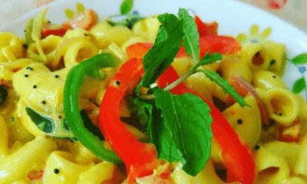 Recipe : Creamy Coconut Curry Pasta
