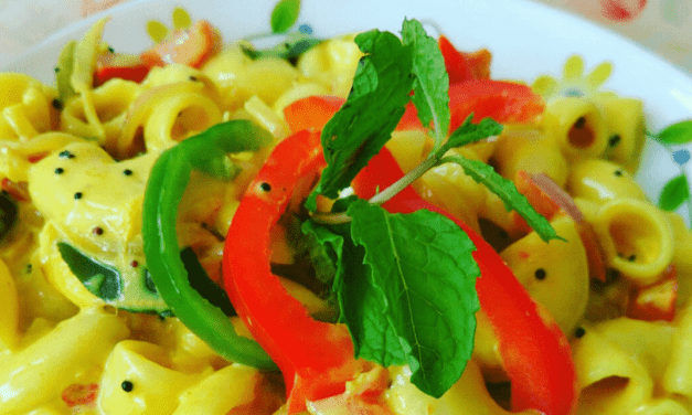 Recipe : Creamy Coconut Curry Pasta