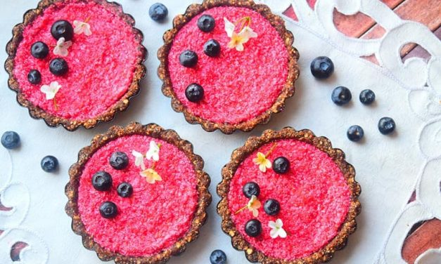 Recipe : No Bake Mini Raspberry Tarts