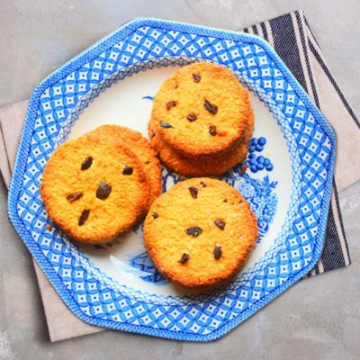 Soft and Chewy Chocolate Chip Coconut Cookies