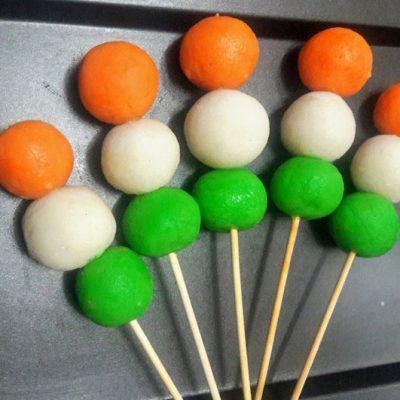 Three Color Hanami Dango Dumplings