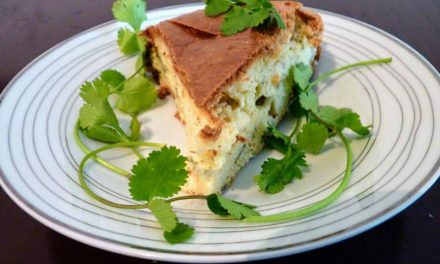 Recipe : Turkish Feta and Thyme Cake