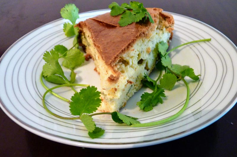 Turkish Feta and Thyme Cake
