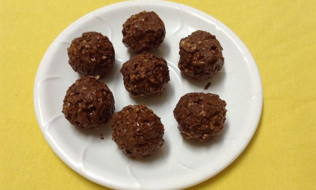 Recipe : No Bake Chocolate Peanut Butter Balls for an Energy Boost