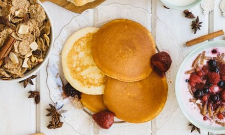 Recipe : Easy Semolina Pancakes with Greek Yogurt and Peanut Butter