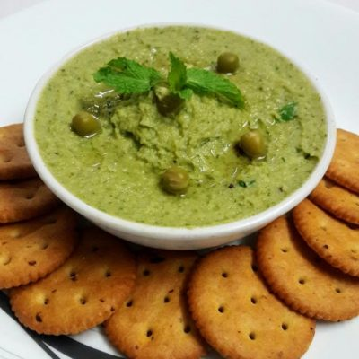 Fresh Mint and Green Pea Hummus1