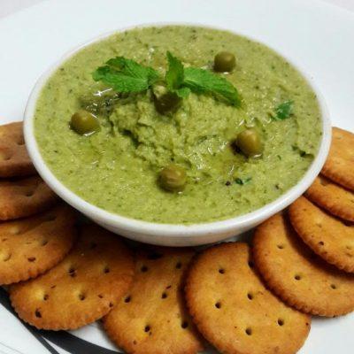Fresh Mint and Green Pea Hummus1