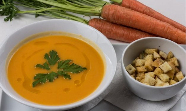 Recipe : Vegan Carrot and Potato Soup