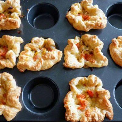 Mini Quiche Puff Pastry1