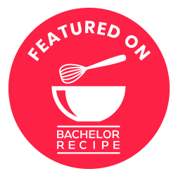 Featured on Bachelor Recipe