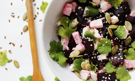 How To Make Roasted Beetroot Salad